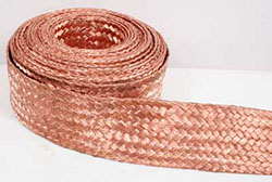 COPPER BRAIDED WIRE ALUMINIUM BRAIDED WIRE